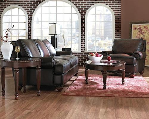 Klaussner Ellington  Stationary Living Room Group