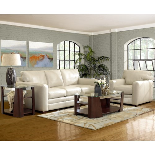 Klaussner Fedora Stationary Living Room Group