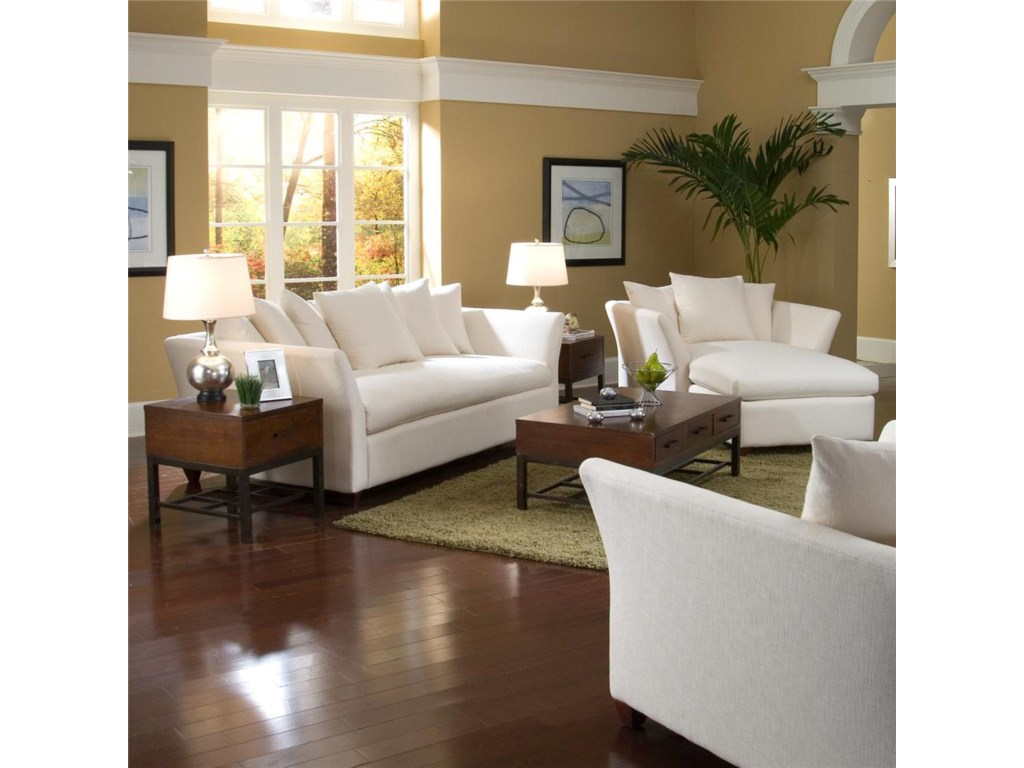 Klaussner FifiStationary Living Room Group