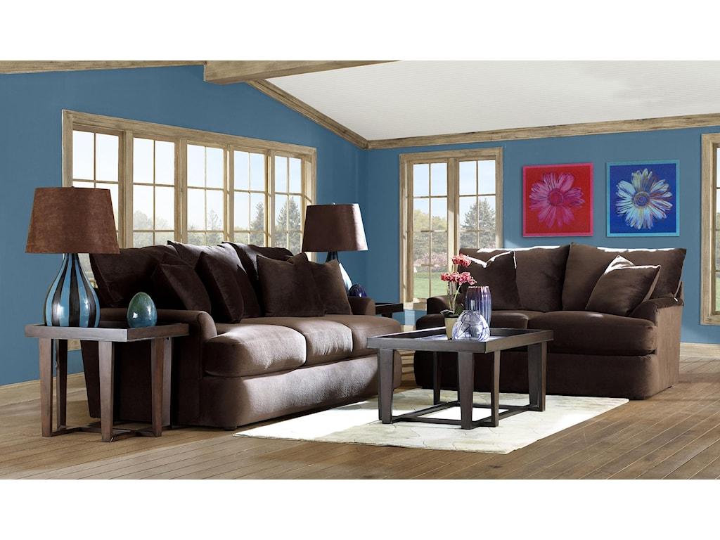 Klaussner FindleyStationary Living Room Group