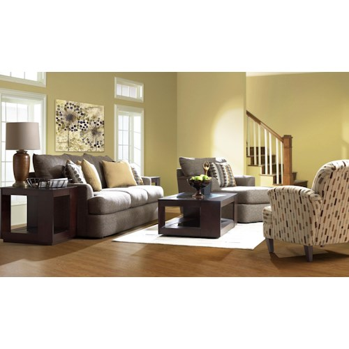 Klaussner Findley Stationary Living Room Group