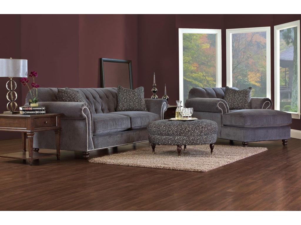 Klaussner FlynnStationary Living Room Group