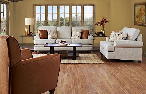 Klaussner Fresno Stationary Living Room Group