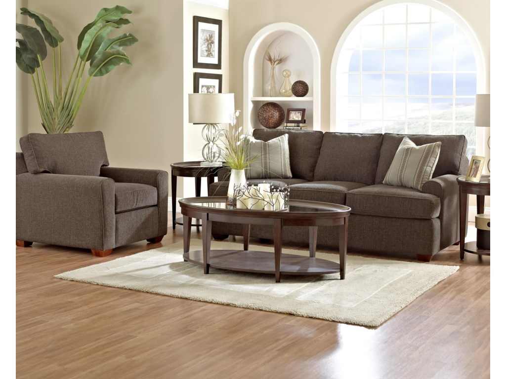 Klaussner HybridStationary Living Room Group