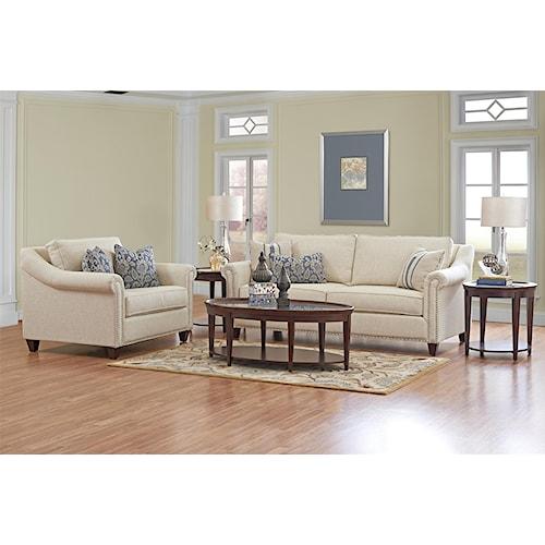 Belfort Basics Oliver Stationary Living Room Group