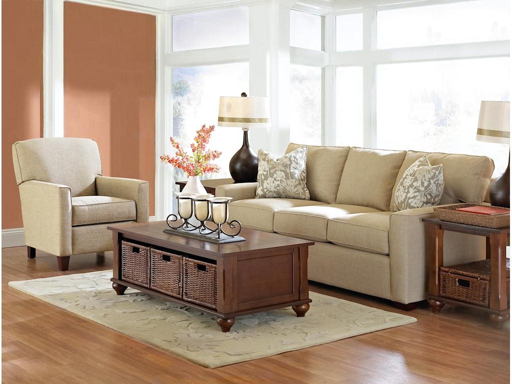 Klaussner PantegoStationary Living Room Group