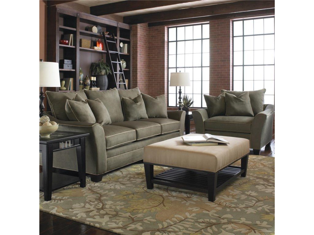 Klaussner PosenStationary Living Room Group