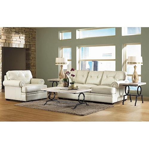 Klaussner semora stationary living room group value city for Klaus k living room brunssi