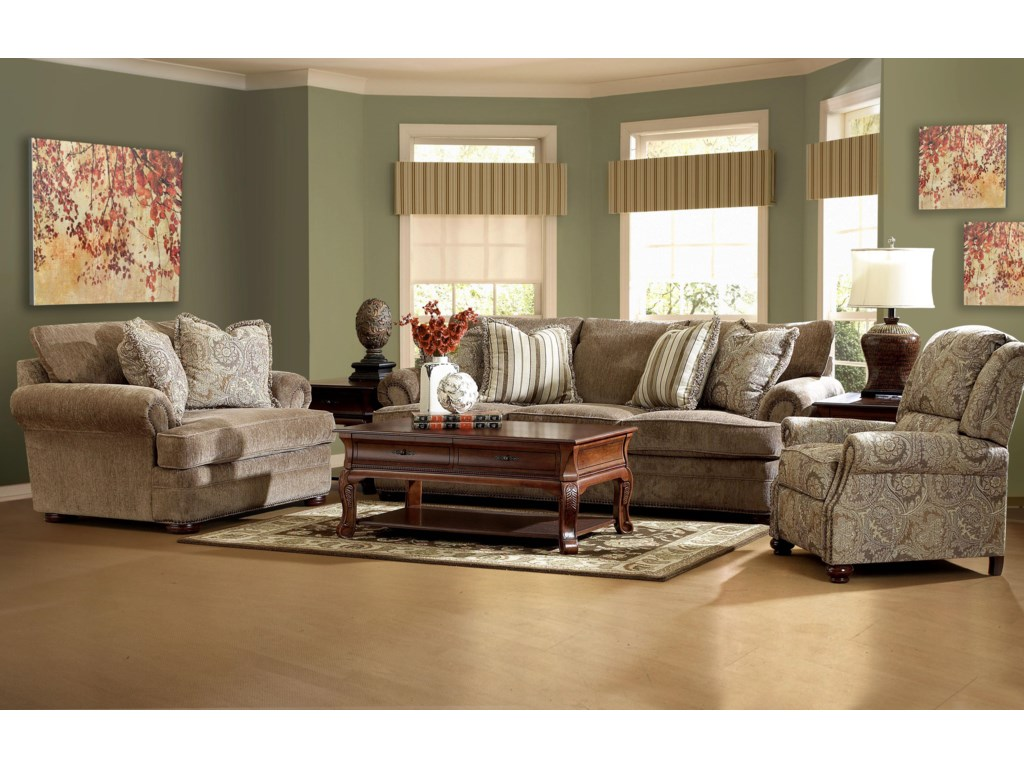 Klaussner TolbertStationary Living Room Group