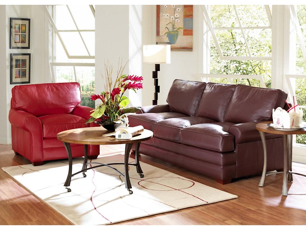 Klaussner TroupeStationary Living Room Group