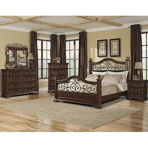 Belfort Basics Chesterbrook Queen Bedroom Group