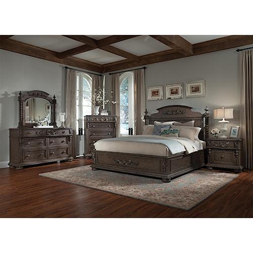 Belfort Basics Virginia Manor Queen Bedroom Group