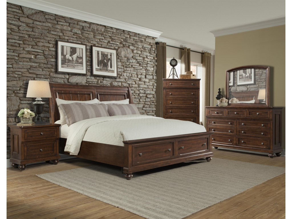 Whittington Queen Bedroom Group by Klaussner International at Furniture  Mart Colorado