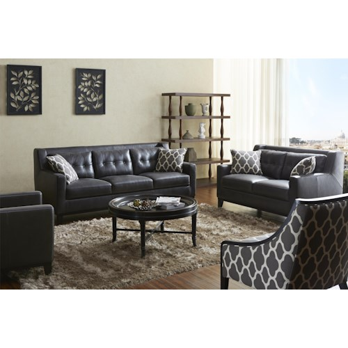 Warehouse M 1838 Stationary Living Room Group