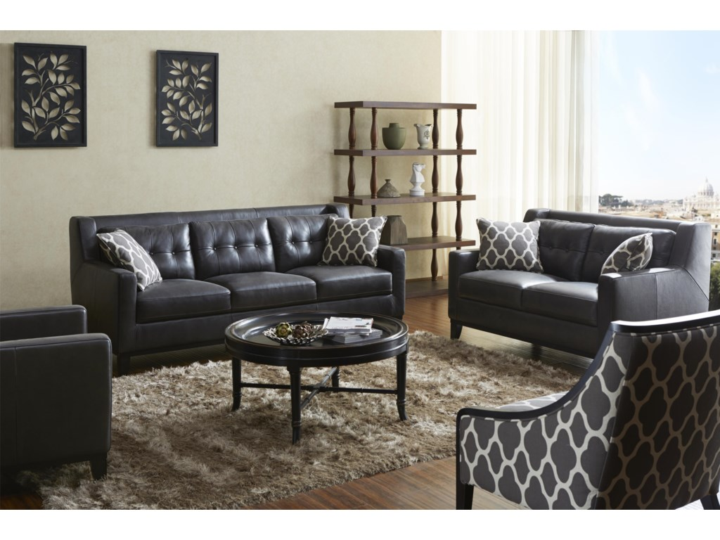 Warehouse M 1838Stationary Living Room Group