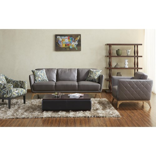 Warehouse M 1961 Stationary Living Room Group