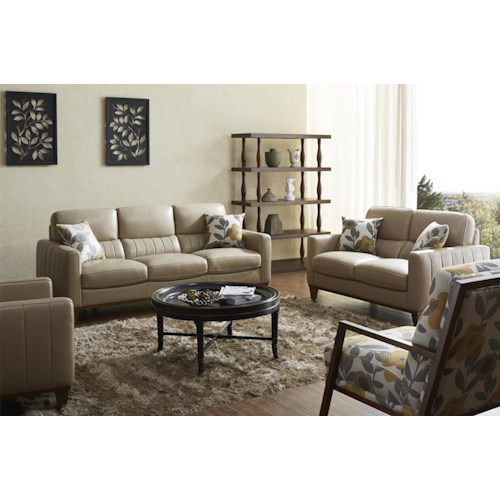 Warehouse M 5127 Stationary Living Room Group