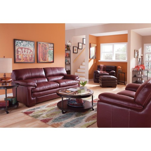 La-Z-Boy Dexter Stationary Living Room Group