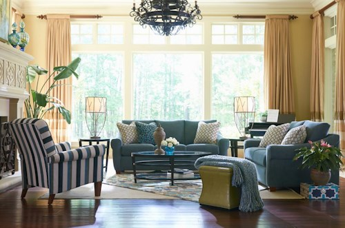 La-Z-Boy KELLER Stationary Living Room Group