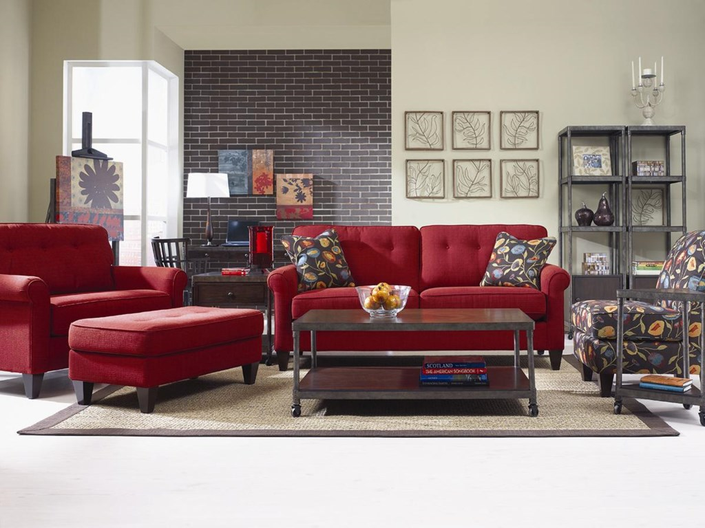 La-Z-Boy Laurel Stationary Living Room Group