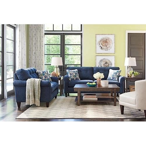 La-Z-Boy Laurel  Stationary Living Room Group