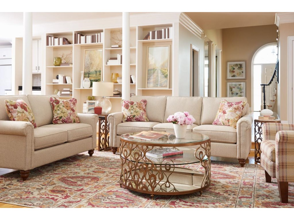 La-Z-Boy LEIGHTON Stationary Living Room Group | SuperStore ...