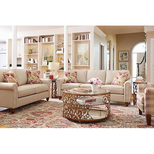 La-Z-Boy LEIGHTON Stationary Living Room Group