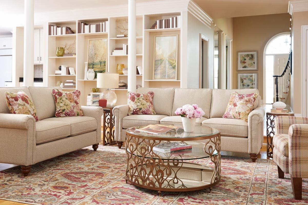 Delicieux La Z Boy LEIGHTON Stationary Living Room Group