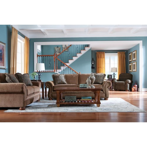 La-Z-Boy Pembroke Stationary Living Room Group