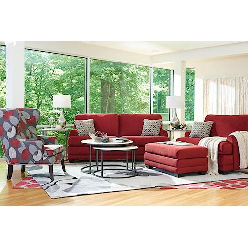 La-Z-Boy Rachel Stationary Living Room Group