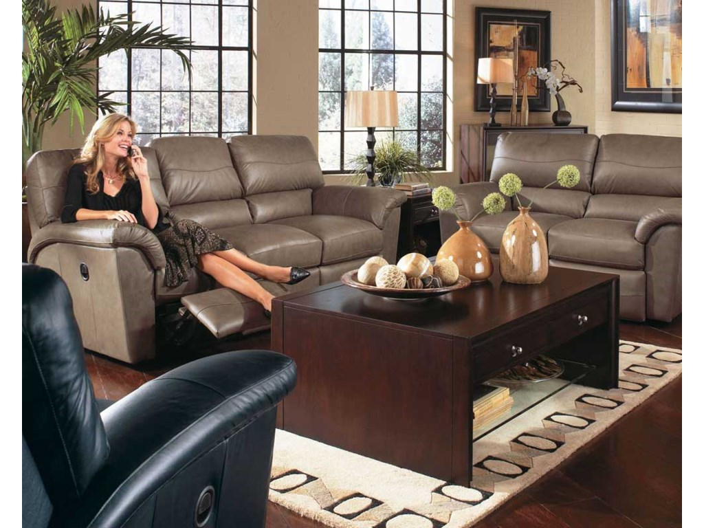La Z Boy Reese Reclining Living Room Group