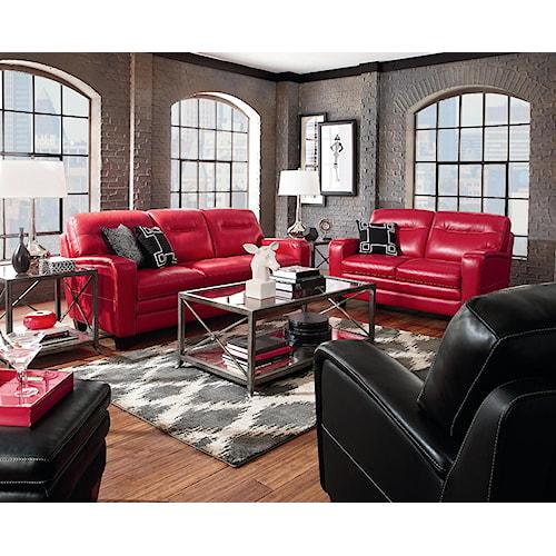 La-Z-Boy SIMONE Stationary Living Room Group