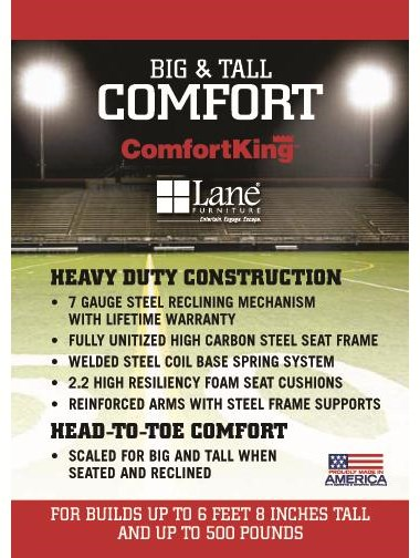 ComfortKing Heavy Duty Construction