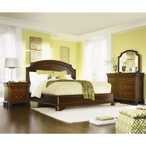 Legacy Classic Evolution Queen Bedroom Group