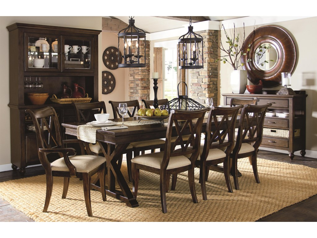Legacy Classic ThatcherFormal Dining Room Group