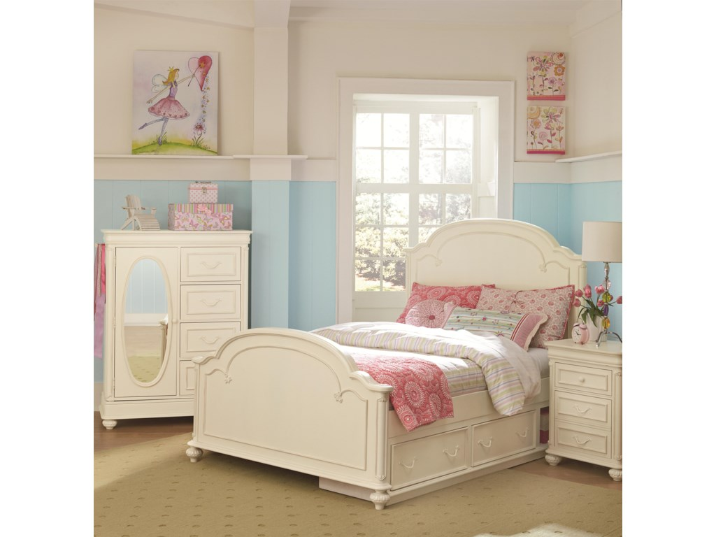 Legacy Classic Kids CharlotteFull Bedroom Group