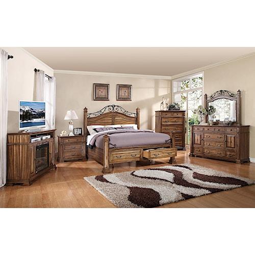 Legends Furniture Barclay King Bedroom Group