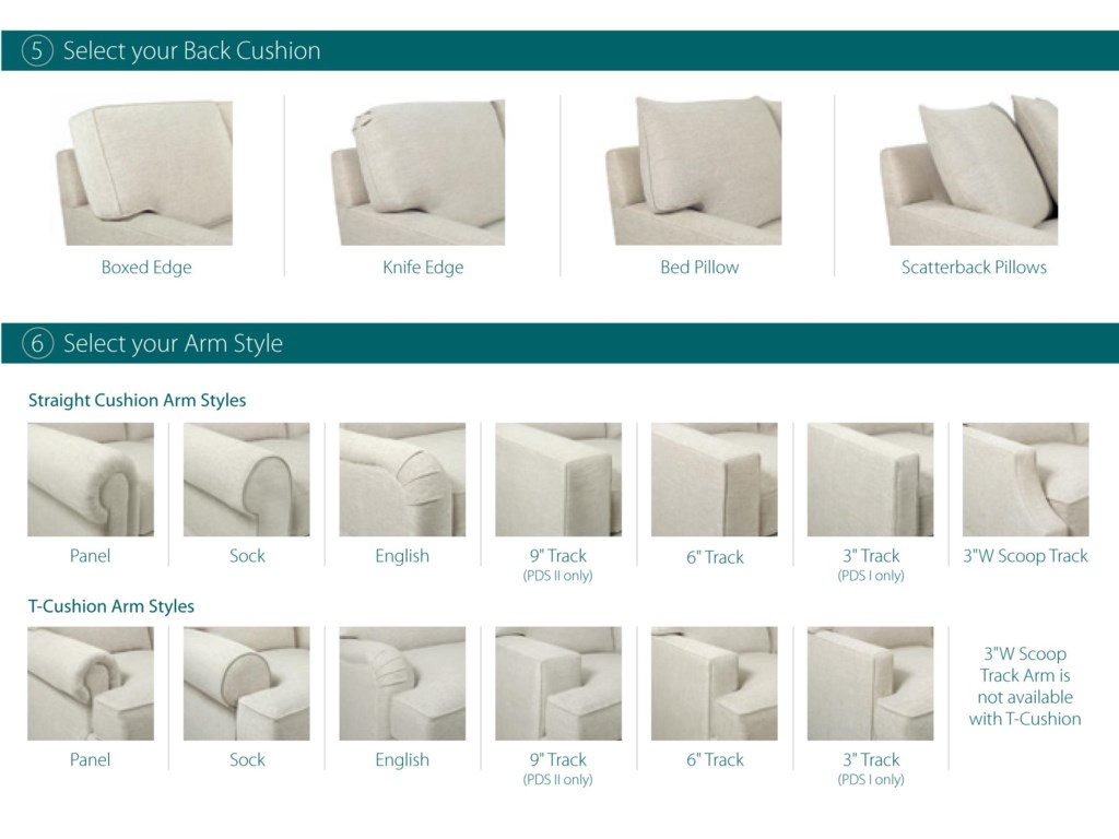 Lexington Personal Design SeriesTanner Customizable Sofa