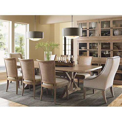 Lexington Monterey Sands Formal Dining Room Group