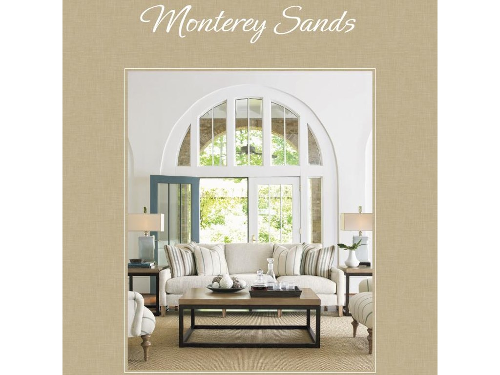 Lexington Monterey SandsPalo Alto Base & Sausalito Glass Door Top