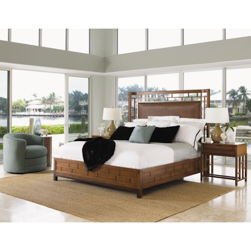 Tommy Bahama Home Ocean Club California King Bedroom Group
