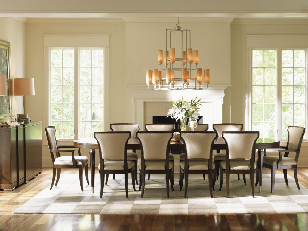 Lexington Tower Place12 Piece Formal Dining Room Group