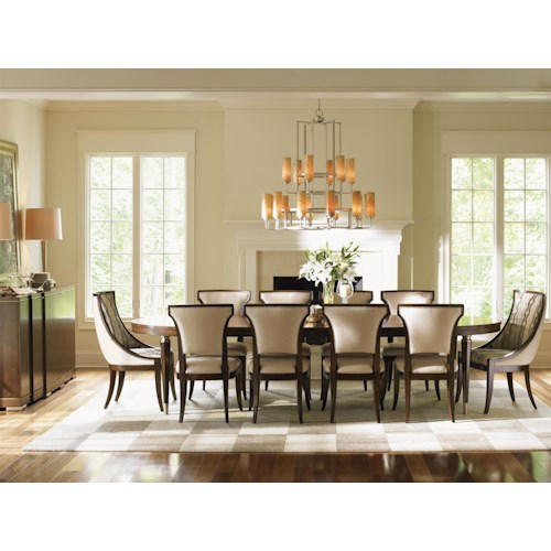 Lexington Tower Place 12 Piece Formal Dining Room Group