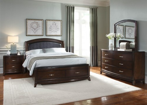 Liberty Furniture Avalon King Bedroom Group 3