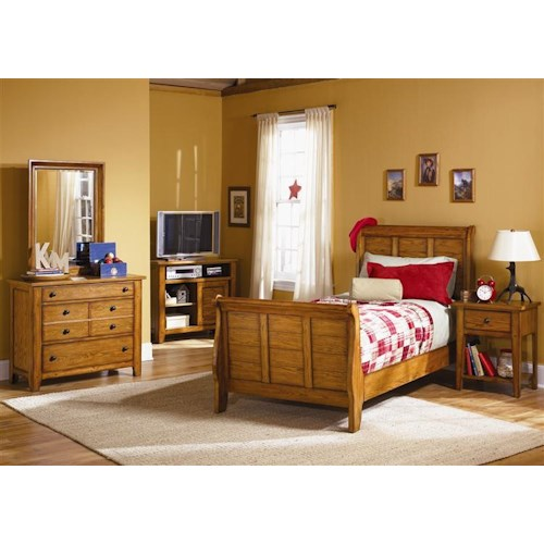 Liberty Furniture Grandpa's Cabin Full Bedroom Group