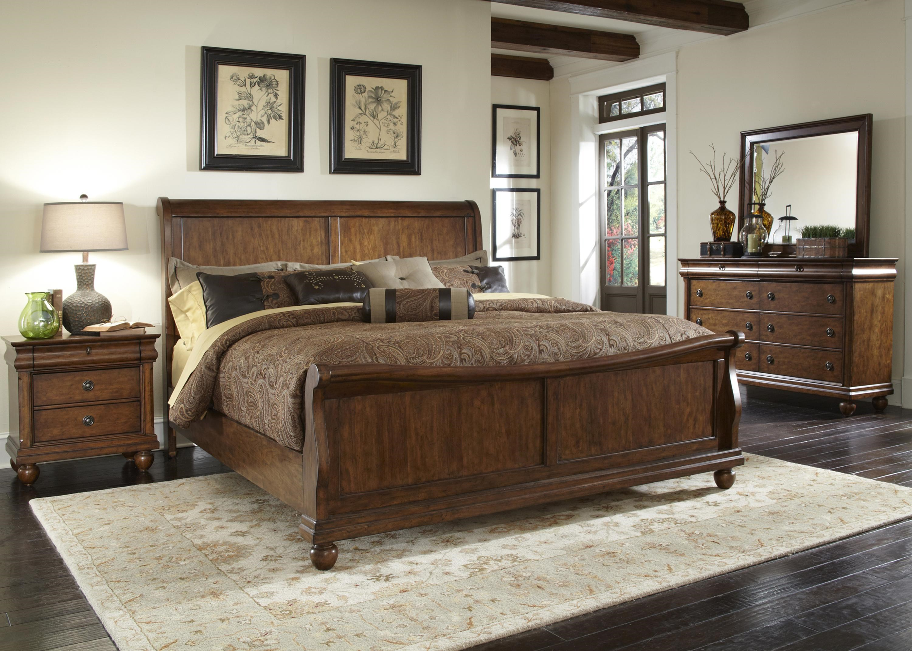 Rustic Traditions Queen Bedroom Group 2 By Sarah Randolph J