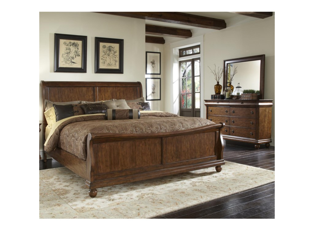 Liberty Furniture Rustic TraditionsQueen Bedroom Group 1