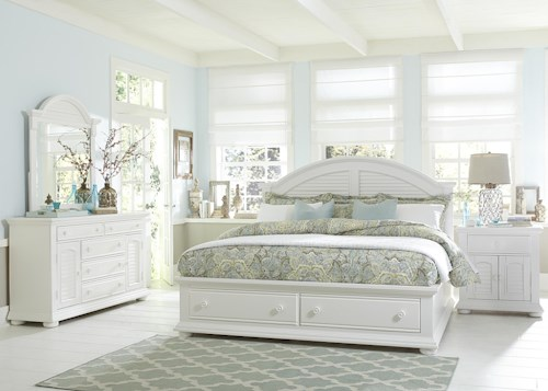 Liberty Furniture Summer House Queen Bedroom Group