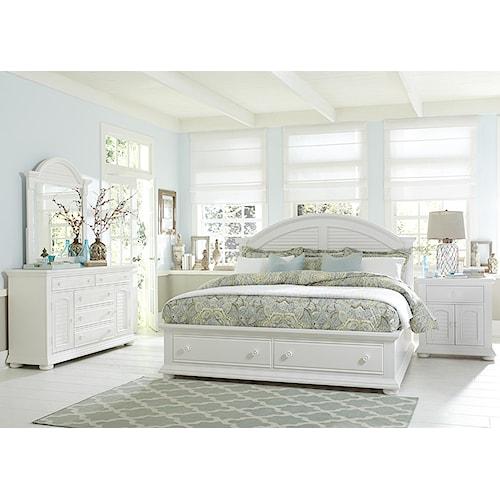 Liberty Furniture Summer House Queen Bedroom Group