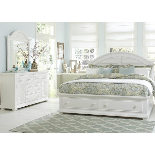 Liberty Furniture Summer House King Bedroom Group